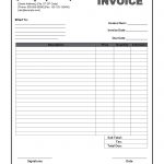 Free Printable Invoices Download Fresh 30 Examples Blank Invoice   Free Printable Blank Invoice Sheet