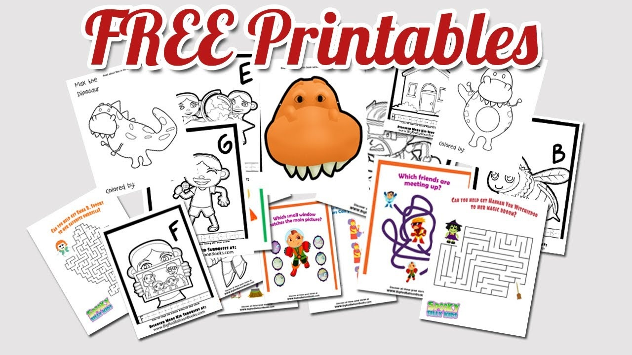 Free Printable Kids Activities | Coloring Pages | Worksheets For - Free Printable Stories For Preschoolers