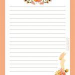 Free Printable Letter Paper | Journals, Notebks, Plnrs | Paper   Free Printable Stationery Writing Paper