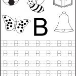 Free Printable Letter Tracing Worksheets For Kindergarten – 26   Free Printable Traceable Letters