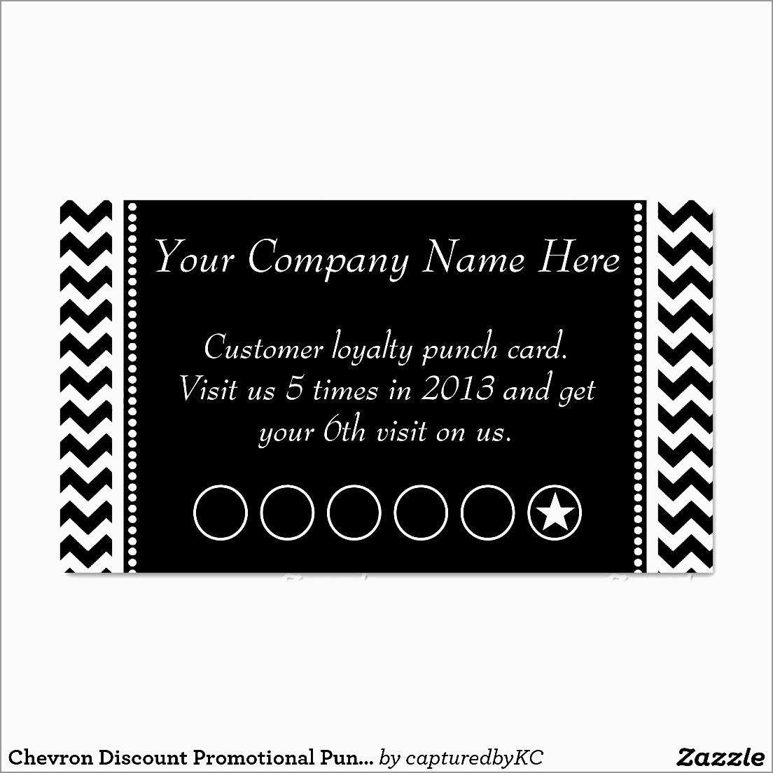 Free Printable Loyalty Card Template New Punch Card Template | Best - Free Printable Loyalty Card Template