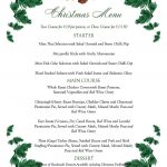 Free Printable Menu Templates Christmas Menu Templates Free Page Not   Menu Template Free Printable Word