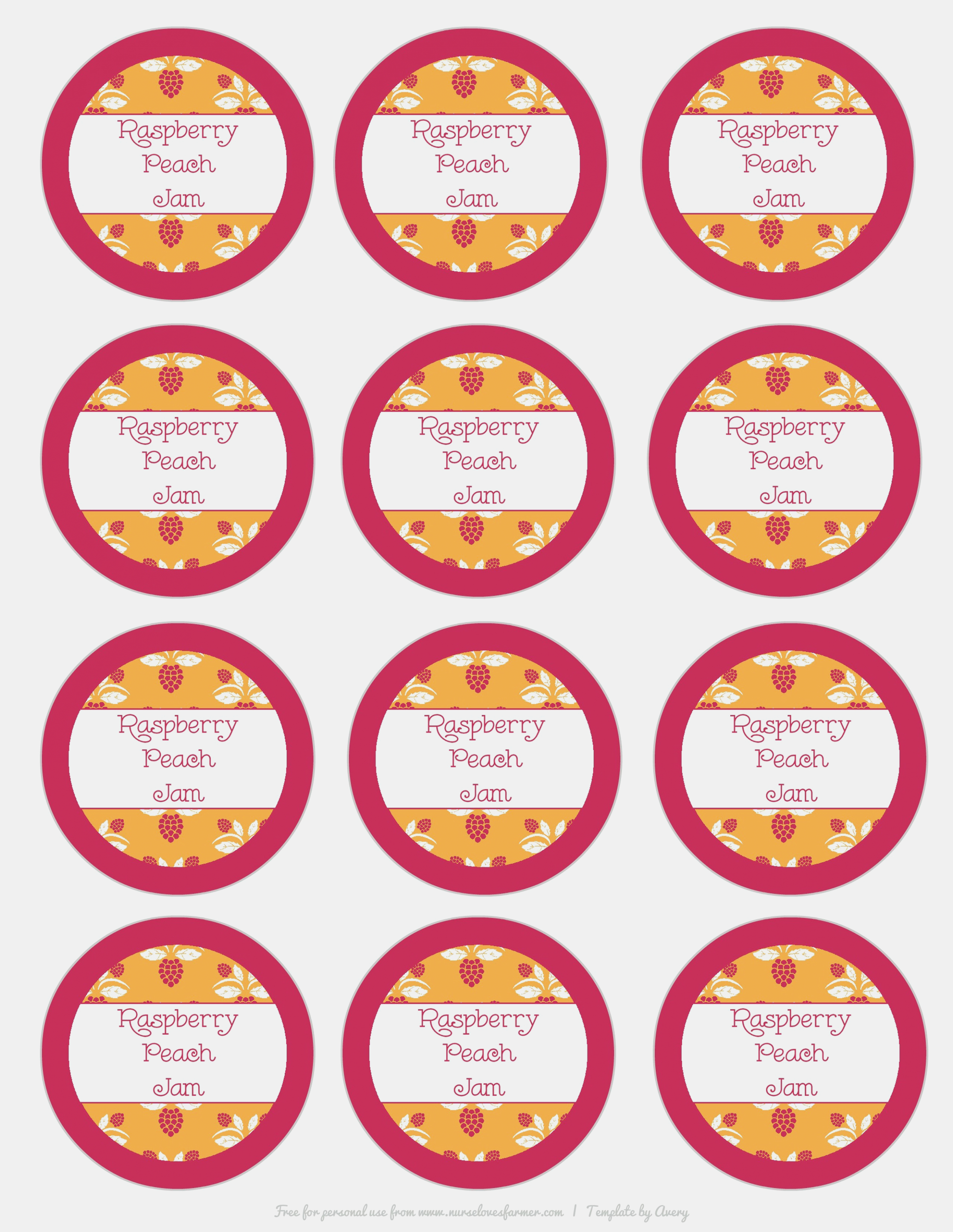 Free Printable Months Of The Year Labels Raspberry Peach Jam Nurse - Free Printable Months Of The Year Labels