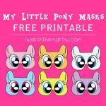 Free Printable My Little Pony Masks   Birthdays, Etc.   Pinterest   Free My Little Pony Printable Masks