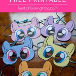 Free Printable My Little Pony Masks   Cartoon   My Little Pony   My   Free My Little Pony Printable Masks