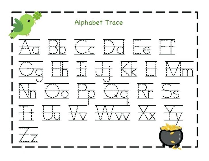 Free Printable Traceable Letters