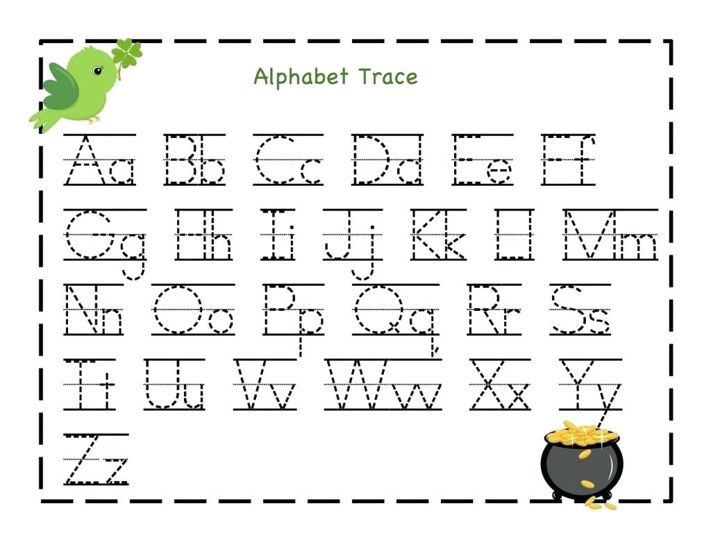 Free Printable Name Tracing Worksheets Free Kindergarten Capital - Free Printable Traceable Letters