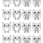 Free Printable Owl Coloring Pages For Kids   Free Printable Owl Coloring Sheets