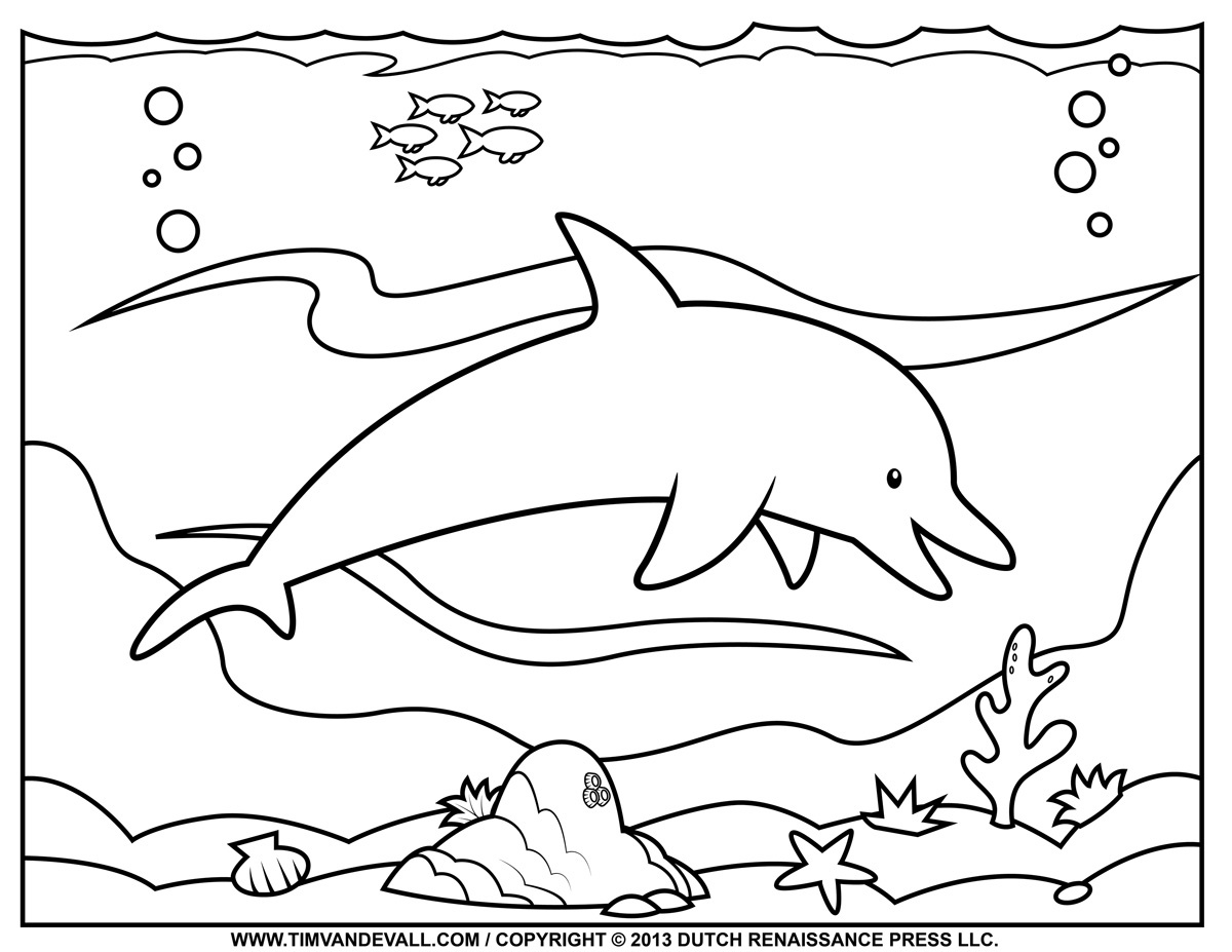 Free Printable Pictures Of Dolphins, Download Free Clip Art, Free - Dolphin Coloring Sheets Free Printable