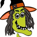 Free Printable Pin The Nose On The Witch Game. | Party! | Halloween   Free Printable Pictures Of Witches