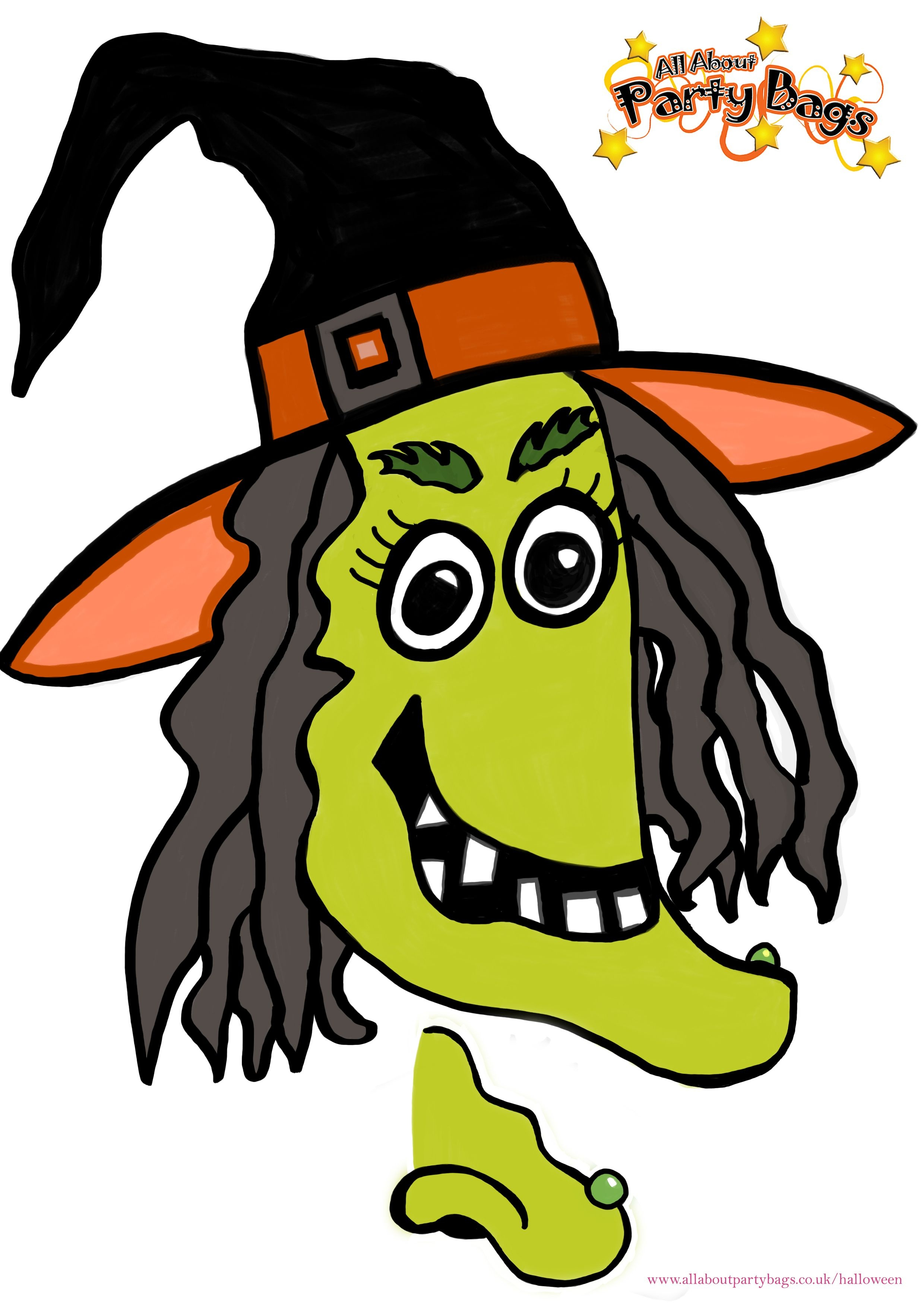 Free Printable Pin The Nose On The Witch Game. | Party! | Halloween - Free Printable Pictures Of Witches