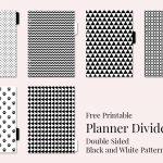 Free Printable Planner Dividers – Jana Branecka   Free Printable Dividers
