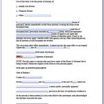 Free Printable Power Of Attorney Forms California   Form : Resume   Free Printable Power Of Attorney Form California