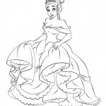 Free Printable Princess Tiana Coloring Pages For Kids | Coloring   Free Printable Princess Coloring Pages