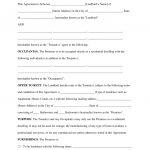 Free Printable Rental Lease Agreement   Kaza.psstech.co   Free Printable Rental Agreement