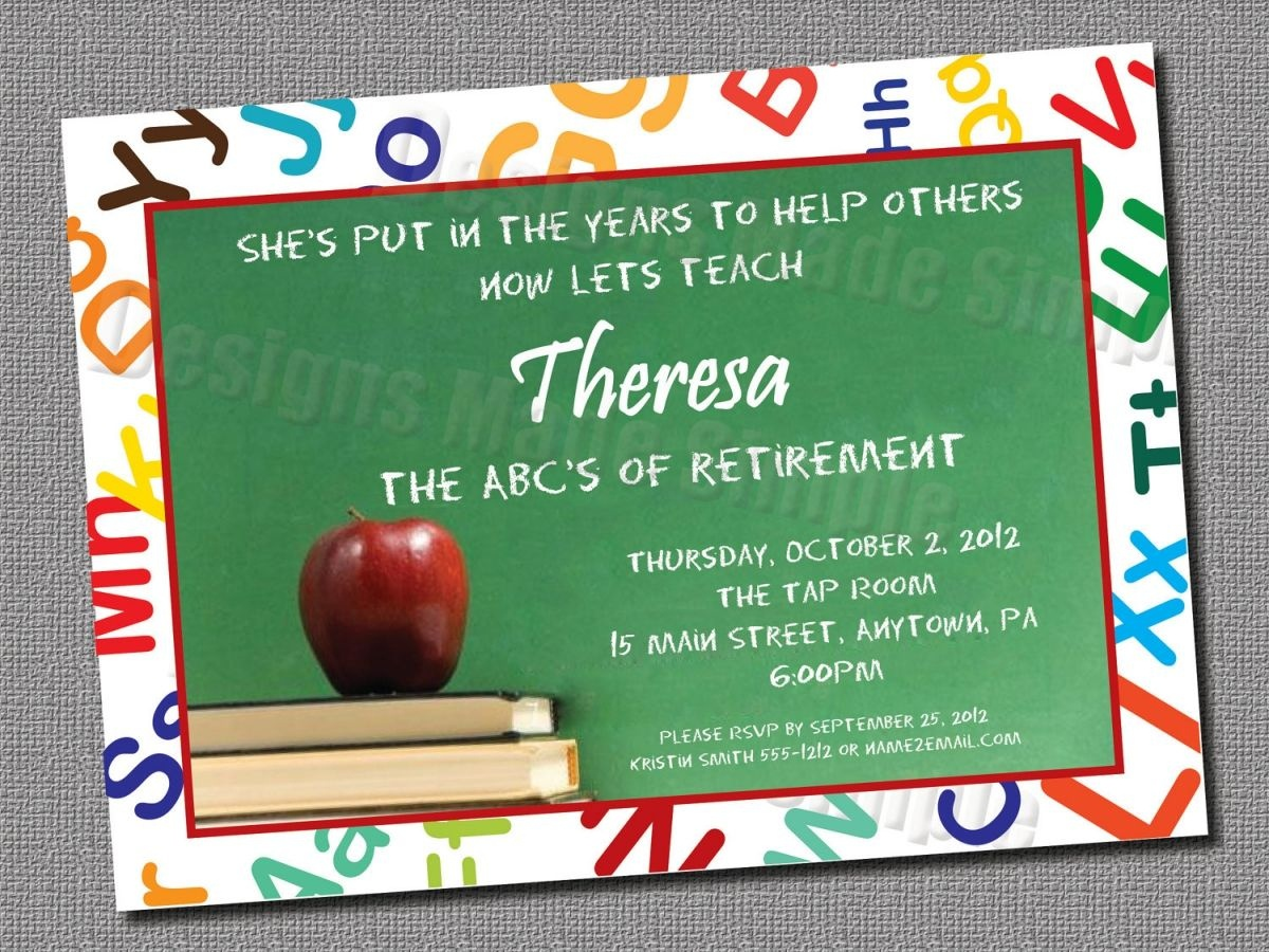 Free Printable Retirement Party Invitations Templates   Gift Ideas - Free Printable Retirement Party Flyers