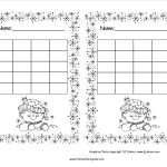 Free Printable Reward And Incentive Charts   Free Printable Behavior Charts For Elementary Students
