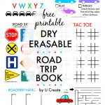 Free Printable Road Trip Book   Free Printable Hangman Game