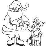 Free Printable Santa Coloring Pages For Kids | Cool2Bkids   Xmas Coloring Pages Free Printable