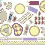 Free Printable Scrapbooking Stuff | Lovetoknow   Baby Scrapbook Templates Free Printable