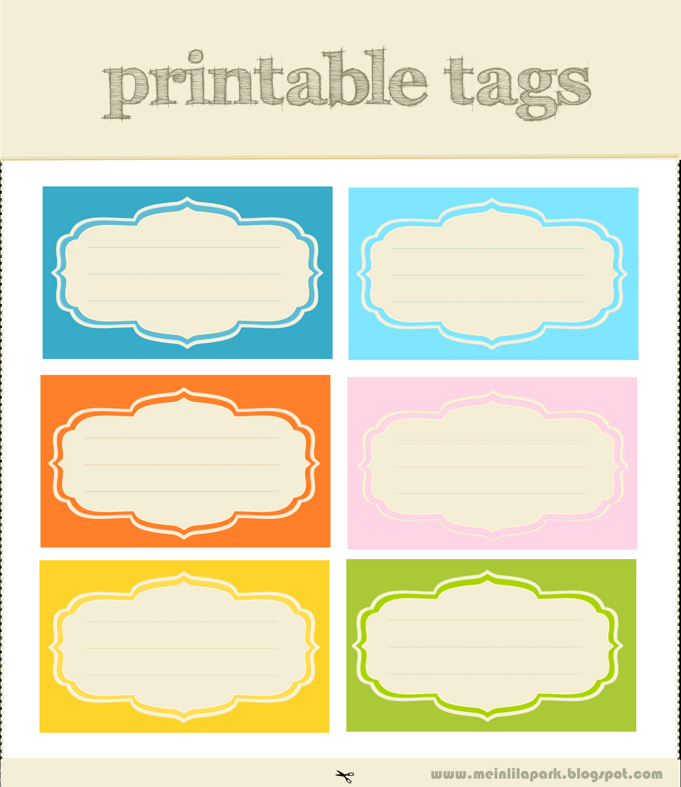 Free Printable Scrapbooking Tags And Digital Journaling Tags - Free Printable Tags