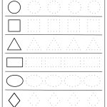 Free Printable Shapes Worksheets For Toddlers And Preschoolers   Free Printable Pages For Preschoolers