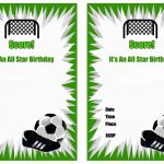 Free Printable Soccer Birthday Party Invitations | Arzis Favorite   Free Printable Soccer Birthday Invitations