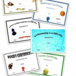 Free Printable Sport Certificates   Over 100 Available   All Free   Free Printable Baseball Certificates