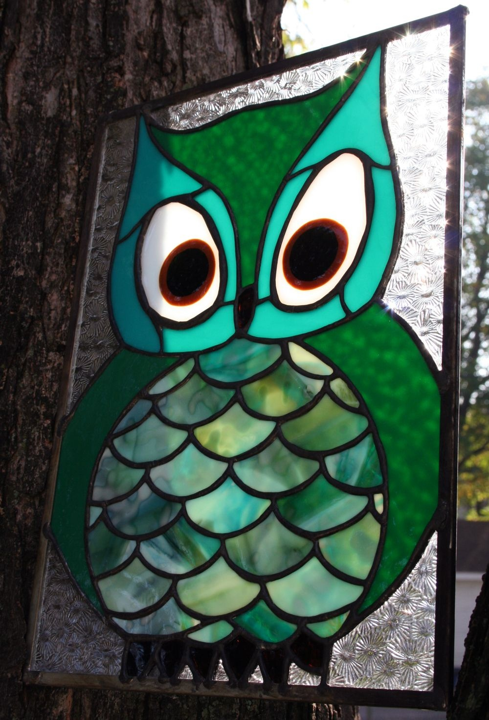 Free Printable Stained Glass Patterns Owls | Stained Glass Owl - Free Printable Stained Glass Patterns