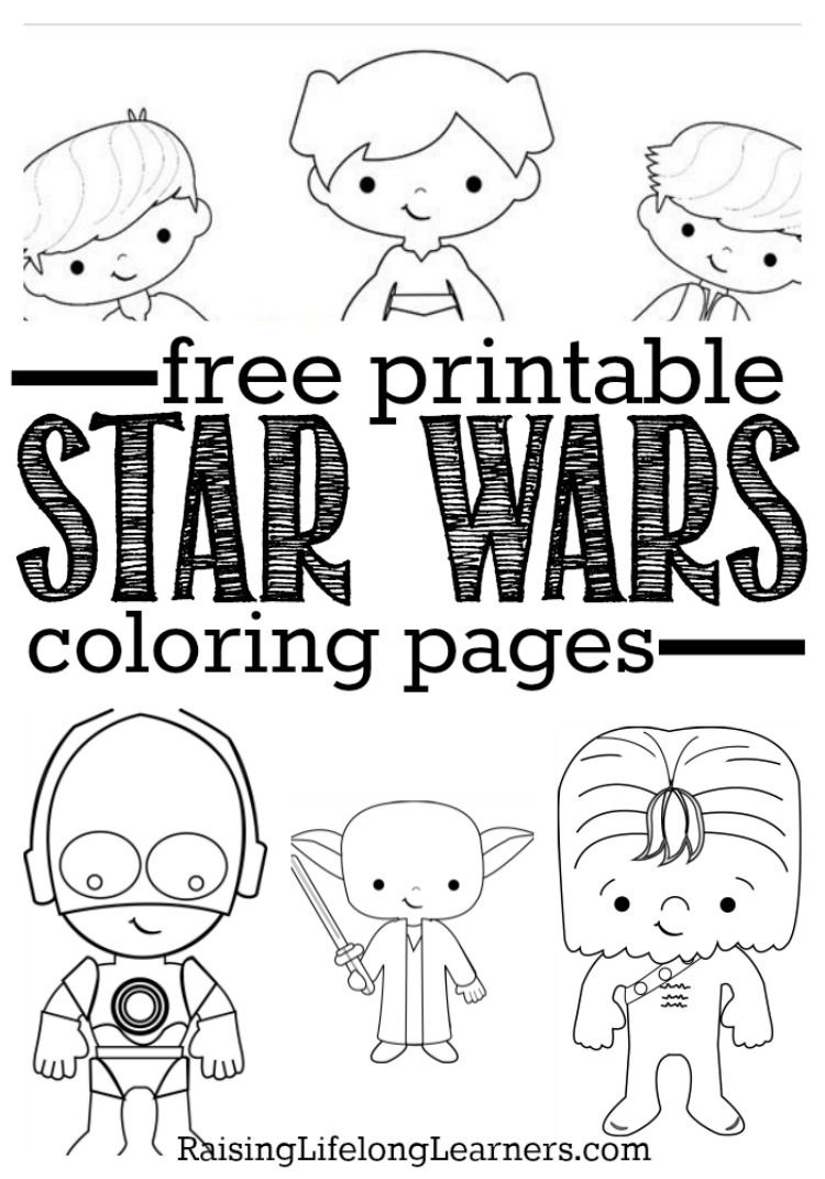 Free Printable Star Wars Coloring Pages For Star Wars Fans Of All - Free Printable Star Wars Coloring Pages