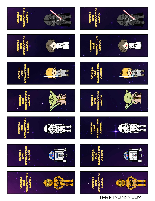 Free Printable Star Wars Halloween Tic Tac Labels - Thrifty Jinxy - Free Printable Tic Tac Labels
