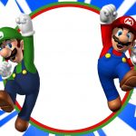 Free Printable Super Mario Bros Invitation Template | Mario Birthday   Free Printable Super Mario Bros Invitations
