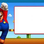 Free Printable Super Mario Bros Invitation Template | Mario Bros   Free Printable Super Mario Bros Invitations