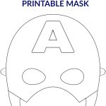Free Printable Superhero Face Masks For Kids   Simple Mom Project   Free Printable Face Masks