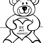 Free Printable Teddy Bear Coloring Pages For Kids   Teddy Bear Coloring Pages Free Printable