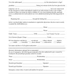 Free Printable Temporary Guardianship Forms | Forms | Child Custody   Free Printable Child Custody Forms