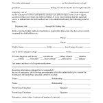Free Printable Temporary Guardianship Forms   Forms   Child Custody   Free Printable Legal Forms California