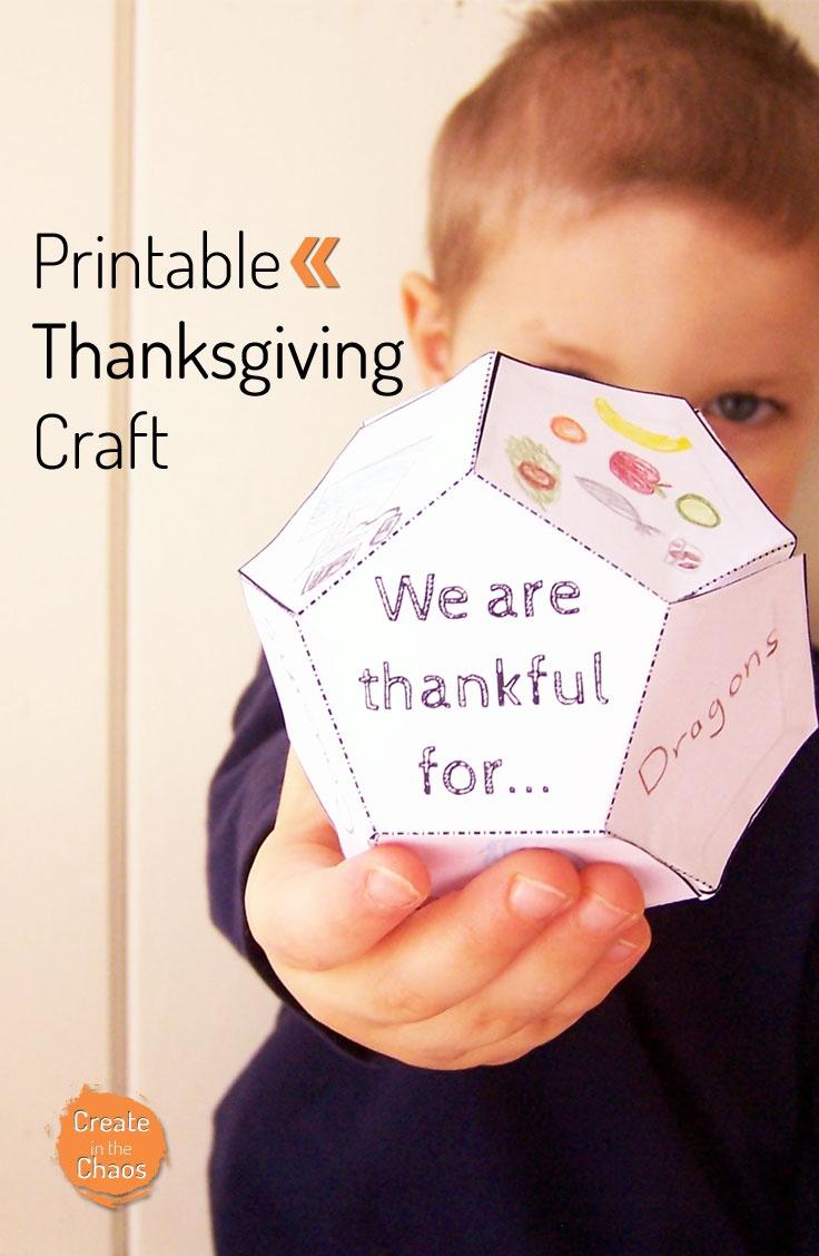 Free Printable Thanksgiving Craft For Kids - Money Saving Mom - Free Printable Thanksgiving Crafts For Kids