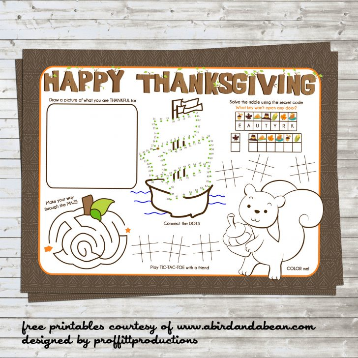 Free Printable For Thanksgiving
