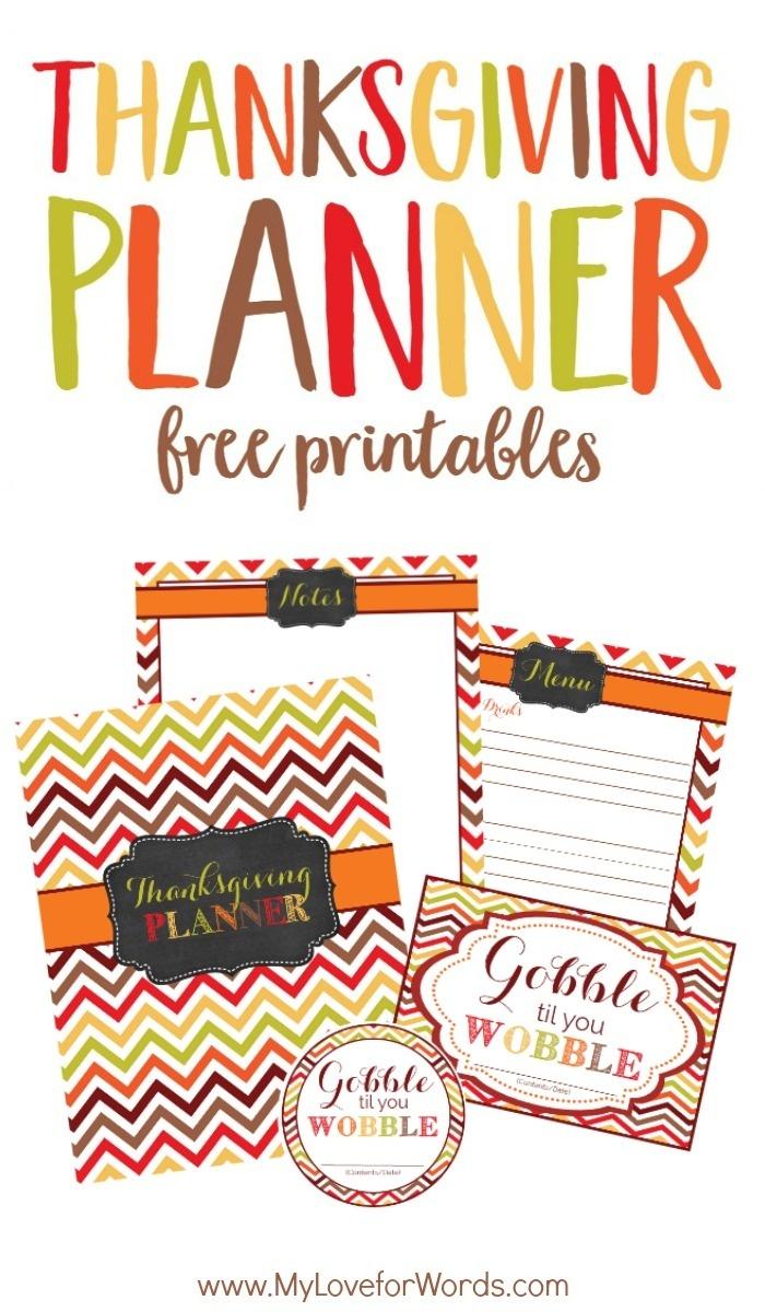 Free Printable Thanksgiving Printables Perfect For Reducing Holiday - Free Printable For Thanksgiving