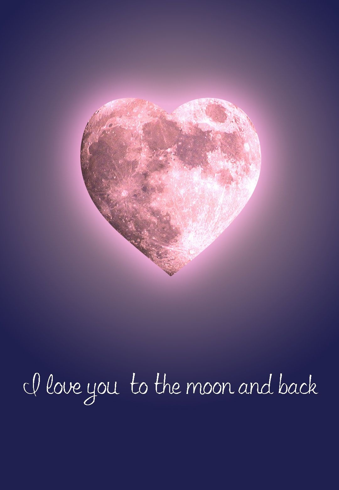 Free #printable 'to The Moon And Back' #love Greeting Card | Free - Free Printable Love Greeting Cards
