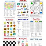Free Printable Travel Games For Kids In 2019   Road Trip   Road Trip   Free Printable Hangman Game