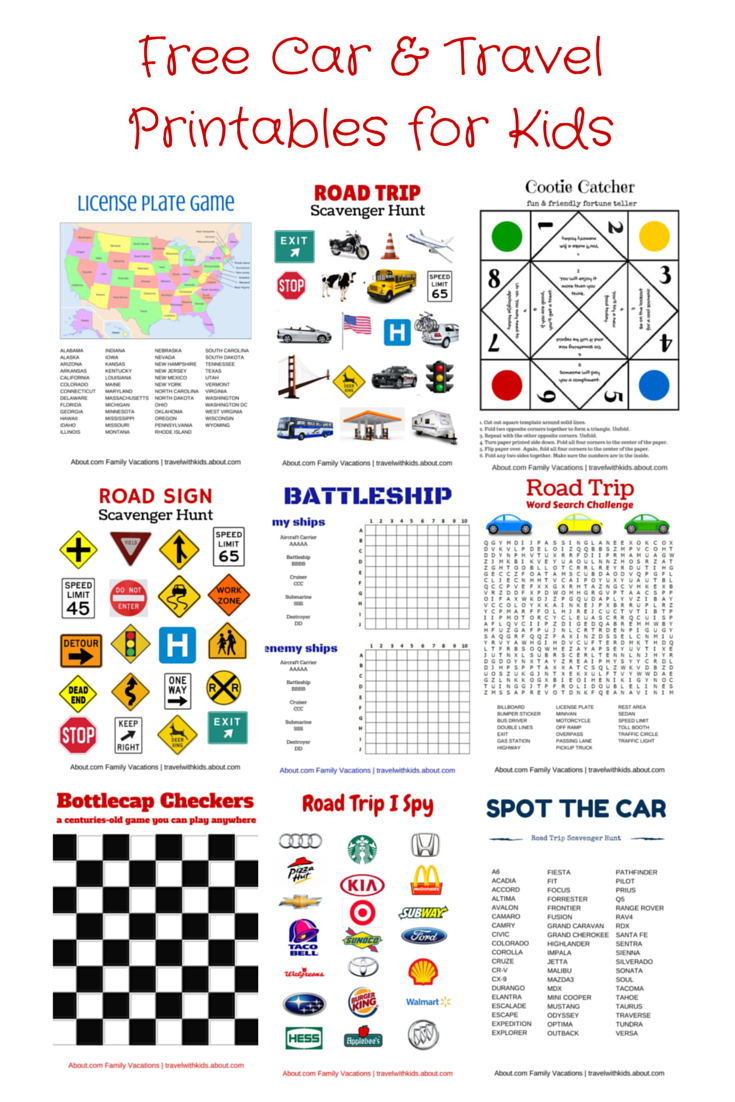 Free Printable Travel Games For Kids In 2019 | Road Trip | Road Trip - Free Printable Hangman Game