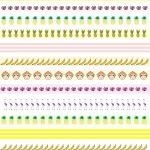 Free Printable Tropical Borders   Planner Stickers   Freebie   Free Printable Borders For Scrapbooking