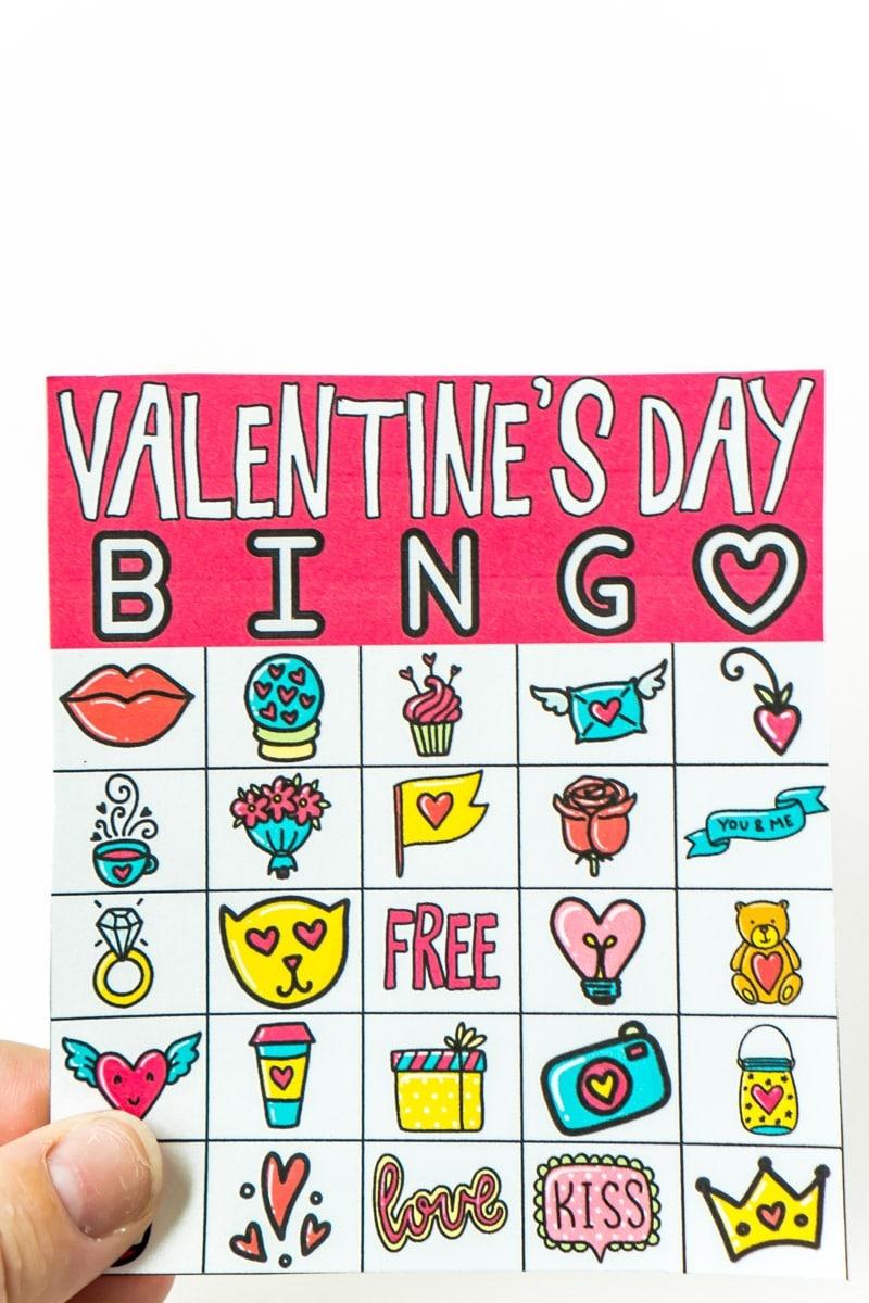 Free Printable Valentine Bingo Cards For All Ages - Play Party Plan - Free Printable Valentines Bingo