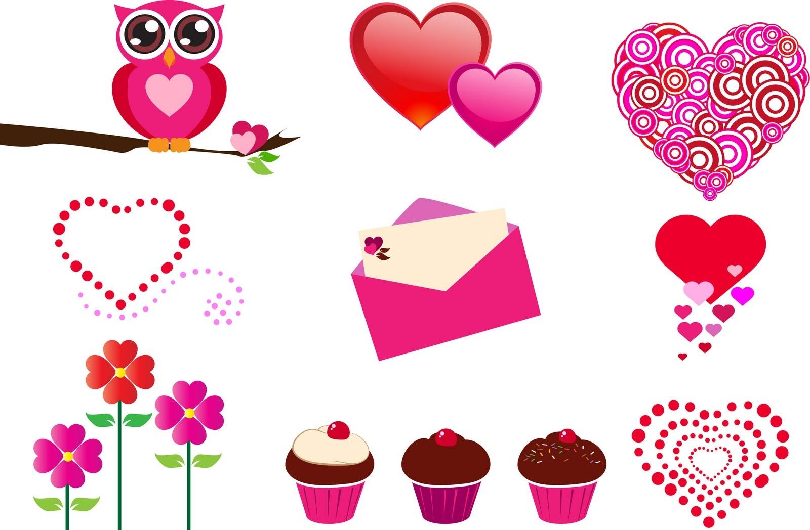 Free Printable Valentine Clipart – 101 Clip Art - Free Printable Valentine Graphics