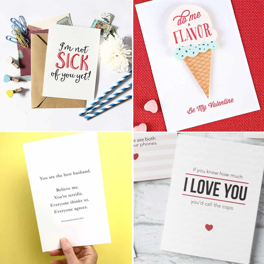 Free Printable Valentine's Day Cards - Free Valentine Printable Cards For Husband