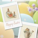 Free Printable Vintage Easter Cards   Bloggers' Fun Family Projects   Free Printable Easter Cards