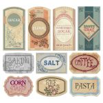 Free Printable Vintage Labels For Jars And Canisters To Organize   Free Printable Labels For Bottles