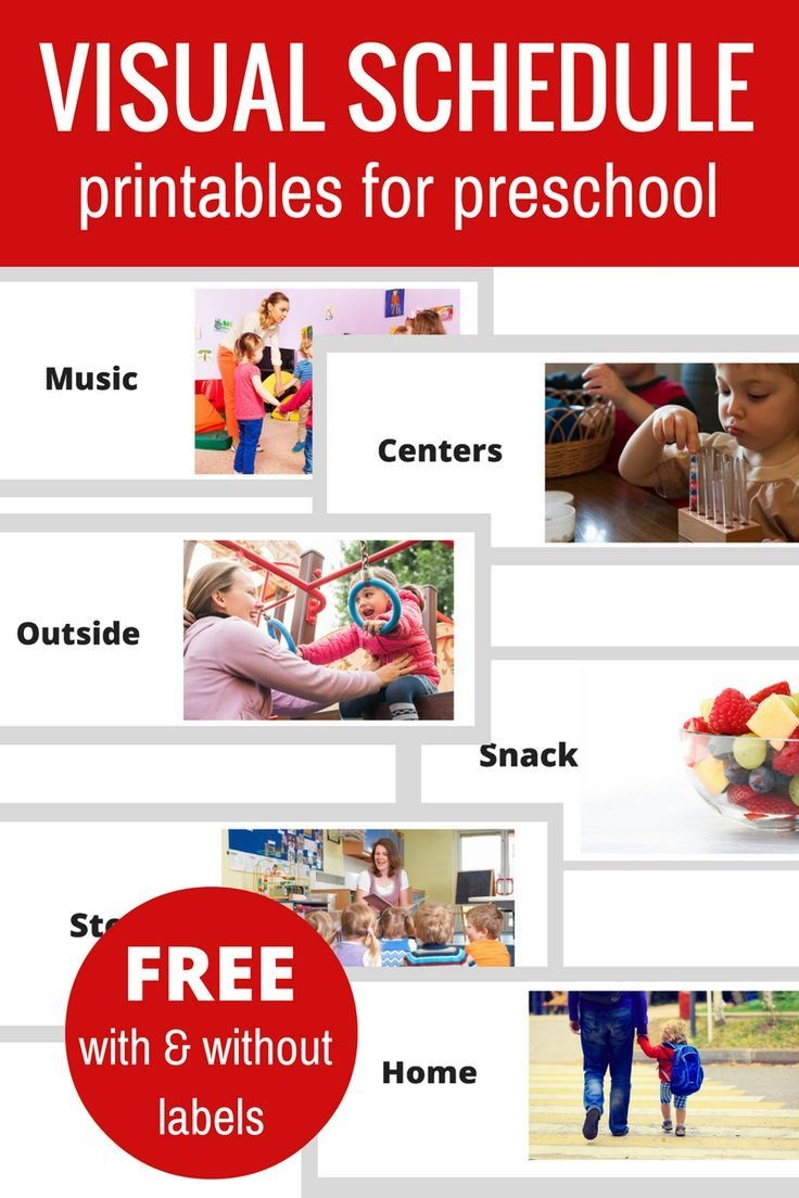 Free Printable Visual Schedule For Preschool | Tes Teacher Tools For - Free Printable Picture Schedule For Preschool